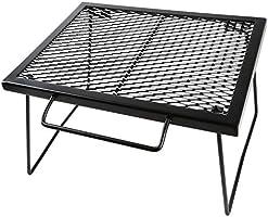 ヨーラー(YOLER) メッシュテーブル スチールテーブル 折りたたみ アウトドア キャンプ用品 専用キャリーバッグ付 43×32×26cm