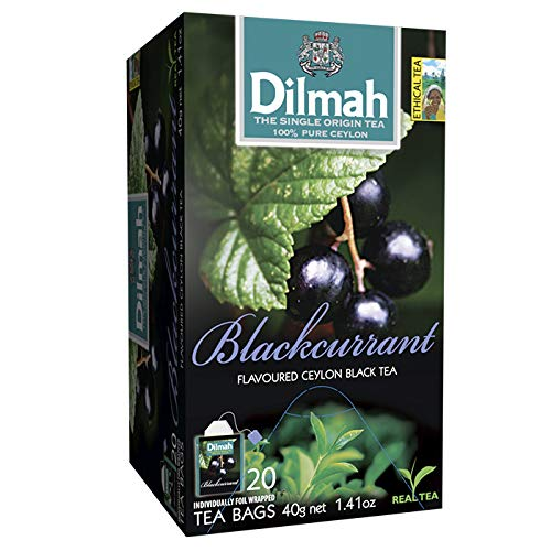 Dilmah Zwarte Bes/Blackcurrrant, 20 Stuk, 20 Units