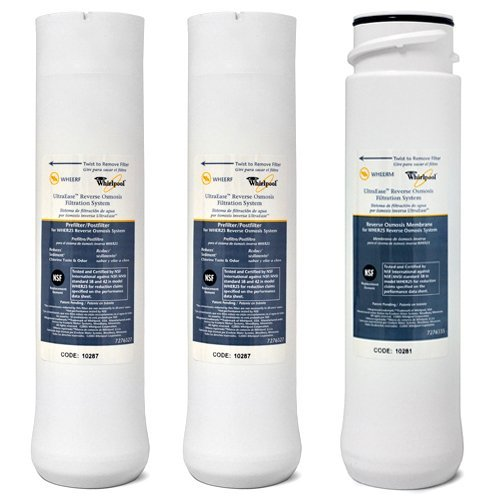 Whirlpool WHER25 & Kenmore UltraFilter 450/650 R.O. Pre & Post Filters w/Membrane Set