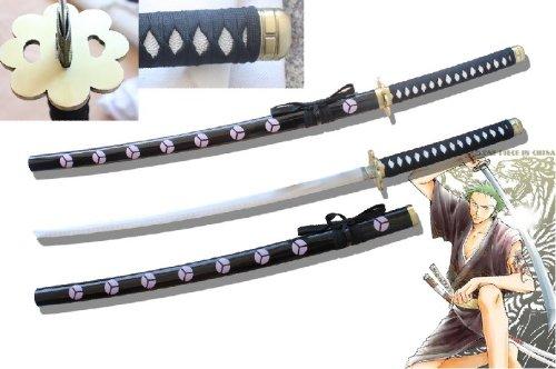 AIT Collectibles S1513 Anime ONE Piece Roronoa Zoro SHUSUI Sauron MITO Sword HAMON Blade 41.1'