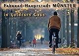 Fahrrad-Hauptstadt MÜNSTER im goldenen Grün (Wandkalender 2022 DIN A3 quer)