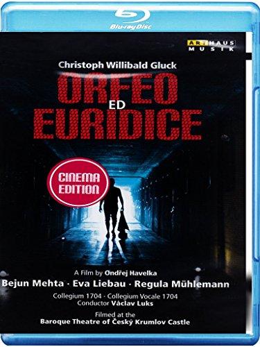 GLUCK: Orfeo Ed Euridice (Baroque Theatre of Ceský Krumlov Castle, 2013) [Blu-ray]