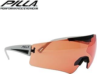 vigilante 54HC rojo lente gris marco de gafas