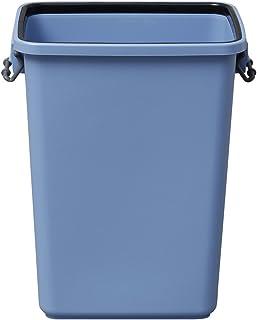 アイリスオーヤマ ゴミ箱 角型 ブルー 40L 幅42×奥行30.5×高さ52.5cm PK-40