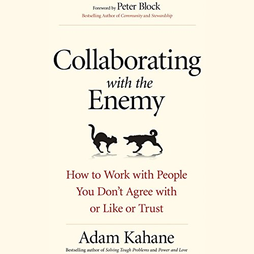 Collaborating with the Enemy audiobook cover art