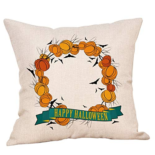 Cushion Cover  Halloween Pillows Cover Decor Pillow Case Sofa Waist Throw Cushion Cover 1PC Home Decoration Pillow Case Halloween Onsale