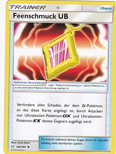 142/181 - Feenschmuck UB - Uncommon - Pokemon - Deutsch - Teams sind Trumpf