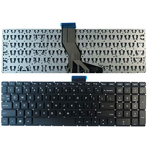 Laptop Replacement Keyboard Fit HP Envy 15-AE 15-AE000 15T-AE000 15T-AE100 15-AE041N 15-AE042NR 856029-001 809032-001 US Layout No Backlight
