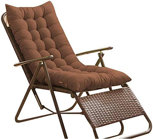 FCXBQ Cojines para sillas Cojín para salón, Cojín para Exteriores, Muebles de jardín, Escritorio de Patio, Sillas reclinables para el Dolor de Espalda, Almohadilla Relajante para Ancianos, sin SIL