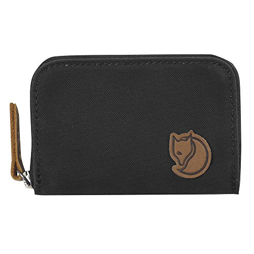 Fjallraven Zip Card Holder Wallets and Small Bags, Dark Grey, OneSize