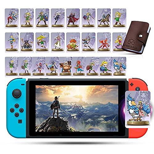 25 NFC Karten für Amiibo Zelda & Loftwing für The Legend of Zelda: Skyward Sword kompatibel mit Switch/Lite Wii U