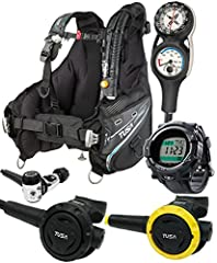 Soverin Alpha BCD incorporates TUSA's new Advanced Weight Loading System (A.W.L.S III), Repositionable D-ring and Snap Hook design for personal customization DC Solar Link dive computer is the next generation in devices. Features: dive log transfer t...