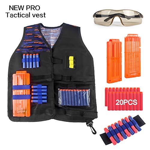 Tactical Vest Kit for Nerf Guns N-Strike...