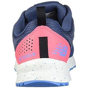 New Balance Women's Nitrel V3 Running Shoe, Vintage Indigo/Guava, 7.5 M US