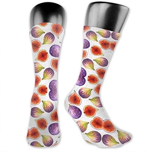 XCNGG Gepolsterte Crew-Socken für Jungen und Mädchen, sportliche Wandersocken, Kompressionssocken