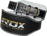 RDX Gimnasio Cinturón Cuero 6' Musculacion Peso Cinturones Pesas Entrenamiento...