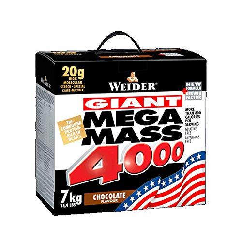 Giant Mega Mass 4000, Vanilla mass growth muscle gain - 7000 grams by Weider mm