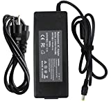 FLYTEN 19V 6.32A 120W Charger for Lenovo IdeaPad Y400 Y410P Y500 Y510p Y460P Y470P Y480 Y560 Y570 Y580 MSI Laptops GP72 GL72 GE72 GE62 GP62 CX62 GE70 CX72 GE60 GL62 GP60 GP72 PE60 PE70 Adapter
