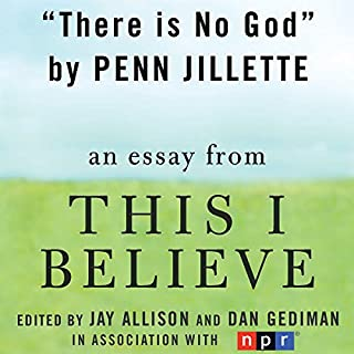 There Is No God audiobook cover art