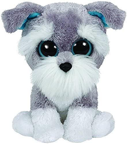 Felices compras Ty Beanie Boos Boos Boos Whiskers the Dog - Medium by Ty Inc  exclusivo