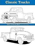 Classic Trucks: Adult Coloring Book