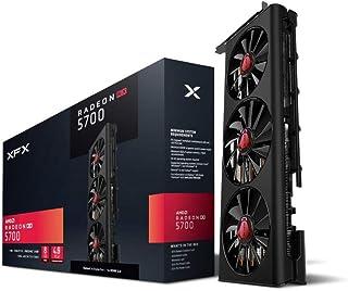 XFX RX 5700 - Tarjeta gráfica (8 GB, GDDR6, 3 x DP HDMI, RX-57XL83LD8)