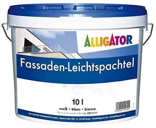 Alligator Fassaden-Leichtspachtel weiß 10 L