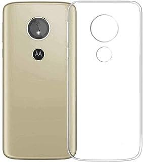 armor PVC Back cover for Motorola Moto E5 -Transparent