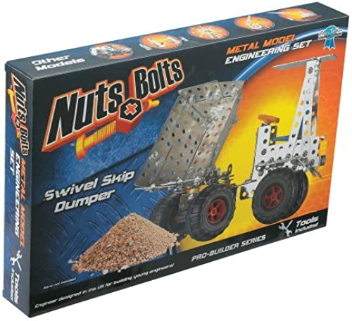 Nuts & Bolts Pro Builder Swivel Skip Dumper by Nuts & Bolts