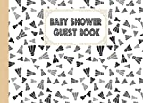 Baby Shower Guest Book: Badminton Baby Shower Guest Book, Baby Shower Guestbook For Wishes & Advice And Predictions For Parents | 150 Pages, Size 8.25' x 6' By Kelly Findlay