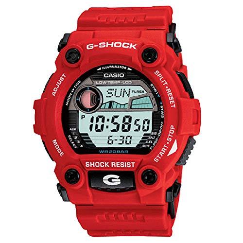 Casio Men's G-Shock G7900A-4 Red Resin Quartz Sport Watch