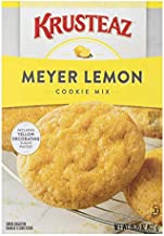 Krusteaz Bakery Style Meyer Lemon Cookie Mix, 15.25-Ounce Boxes (Pack of 12)