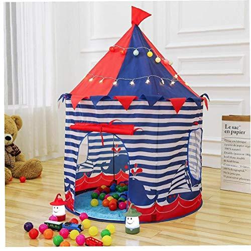 Case Cover Bewegliche Faltbare Prinzessin Kinder Tent Folding Jungen-Spielzeug Haus für Kinder im Freien Spielzeug-Zelt