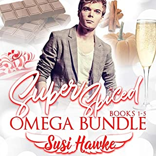 Super Spiced Omega Bundle: Books 1-5 cover art