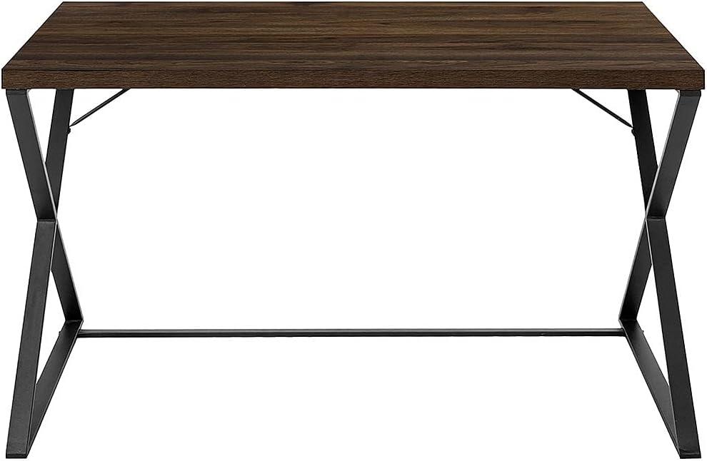 Brantley List price Walnut Board 2021 new Metal Desk with