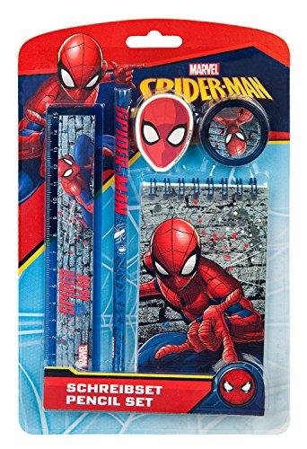 Schreibset, Marvel Spider-Man, 5 teilig