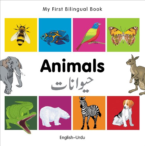 My First Bilingual Book–Animals (English–Urdu)