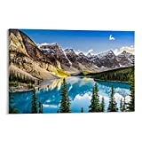 GHJFDV Romancing & Rocky Mountains in Calgary Poster auf