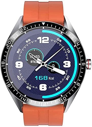 Reloj Inteligente 1 28 'Pantalla Táctil a Color Deportes Moda Multi-Función Reloj Inteligente-Negro-Naranja
