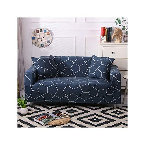 HGblossom Elastische Sofabezug-Set für Wohnzimmer Sofa Handtuch rutschfeste Sofabezüge für Haustiere Stretch Sofa Schonbezug Farbe 23 2 Sitzer und 3-Sitzer