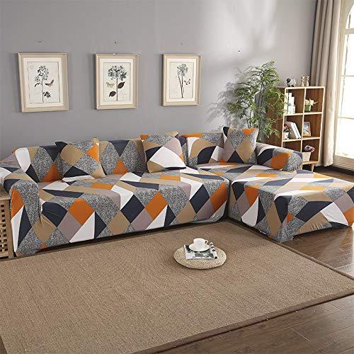 chenbyyao Todo Incluido Universal Cuatro Estaciones general235-300cm 235-300cm Cubo de Rubik,Fundas de Sofás Elástica de Punto Protector del sofá Se Adapta a Toda la Tela Cubierta Cubierta de Muebl