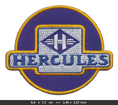 Fichtel & Sachs Hercules Patch Aufnäher Bügelbild Mofa Moped Mokick Leichtkraftrad