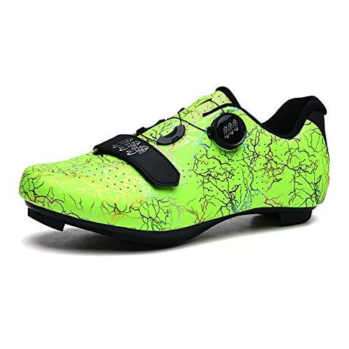 Zapatillas de Ciclismo, Zapatillas de Ciclismo de Interior MTB Spin para Mujeres y Hombres, Zapatillas de Ciclismo al Aire Libre Transpirables, Zapatillas de Bicicleta de montaña para Bicicleta