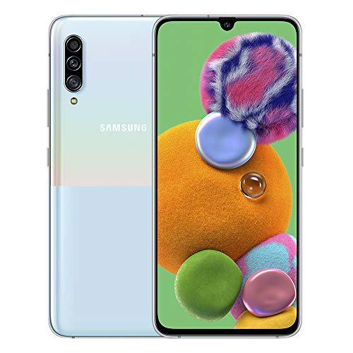 Samsung Galaxy A90 5G - Smartphone 128GB, 6GB RAM, Single Sim, White