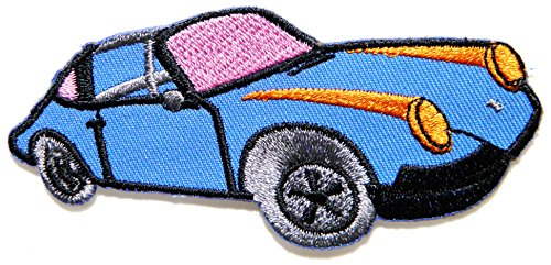 Vintage Super Classic Car Model Hot Rod Kid Baby Jacket T-shirt Patch Sew Iron on Embroidered Applique Sign Badge Costum Gift