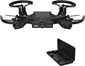 AEE SELFLY Pocket Selfie Drones with Camera, Foldable Propellers and Face Tracking Technology. Gesture Controlled Quadcopter Drone for Kids and Adults, Flight Control via iOS and Android App