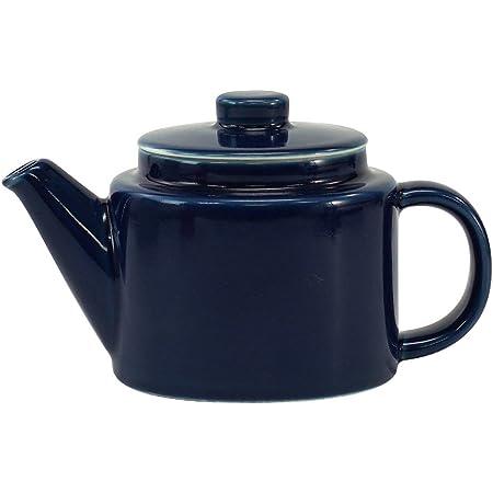 西海陶器 波佐見焼 急須 コモン ポット ネイビー スーパー ステンレス 500 ml 茶こし付 13873