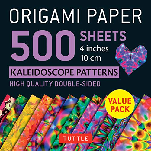 Origami Paper 500 sheets Kaleidoscope Patterns 4 (10 cm) (Origami Paper Pack 4 Inch)