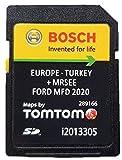 Tarjeta SD 2020/2021 para Ford MFD V10 tarjeta SD Navegación GPS Mapa 2020/2021 Sat Nav Map Update Cover All Europe, Part No: i2013305