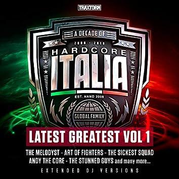 Hardcore Italia - Latest Greatest Vol. 1